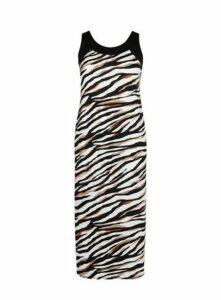 Zebra Print Maxi Dress, Others