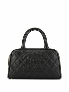 Chanel Pre-Owned mini Boston tote - Black