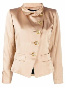 Yves Saint Laurent Pre-Owned 1980's off-the-centre fastened jacket -