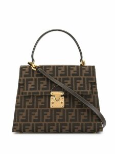 Fendi Pre-Owned Zucca pattern 2way bag - Brown