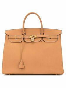 Hermès Pre-Owned Birkin 40 hand bag - Brown