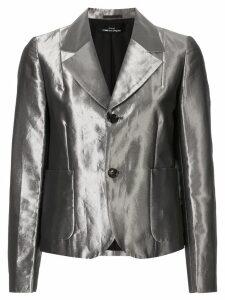 Comme Des Garçons Pre-Owned High Shine blazer - Silver