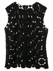 Comme Des Garçons Pre-Owned mesh top - Black