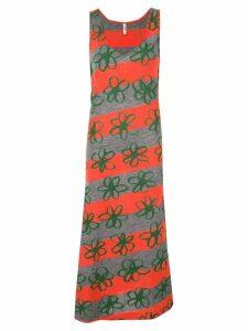 COMME DES GARÇONS PRE-OWNED Rubber Flower dress - Multicolour