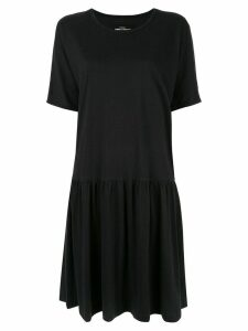 Comme Des Garçons Pre-Owned gathered T-shirt dress - Black