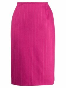 Yves Saint Laurent Pre-Owned 1980's Scherrer Skirt - Pink