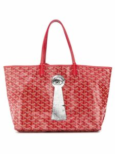 Goyard Pre-Owned Keyhole print shopper - Red