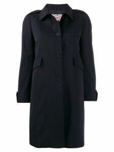 PRADA PRE-OWNED 1990's trench coat - Blue