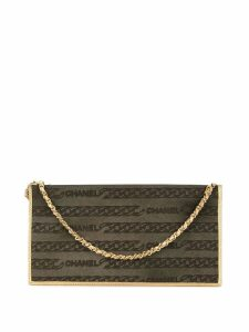 Chanel Pre-Owned chain hand bag - Grey