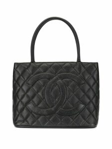 Chanel Pre-Owned medallion hand bag - Black