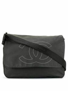 Chanel Pre-Owned Sport Line CC Logos Shoulder Bag - Black