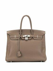Hermès Pre-Owned 2008 Birkin 35 handbag - Brown