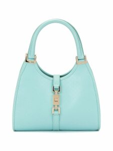 Gucci Pre-Owned GG Pattern Jackie Hand Bag - Blue