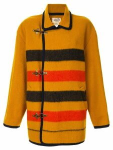Hermès Pre-Owned Rocabar long sleeve coat - Yellow