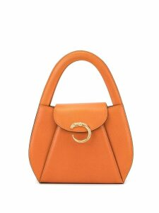 Cartier Pre-Owned Panther Logos Hand Bag - Orange