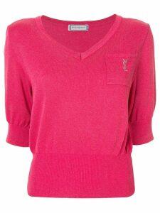 Yves Saint Laurent Pre-Owned short sleeve top - Pink