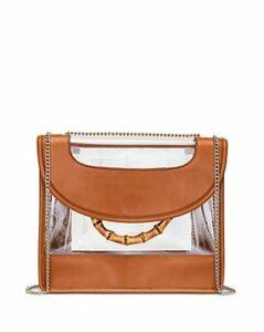 Loeffler Randall Marla See-Through Leather Convertible Shoulder Bag