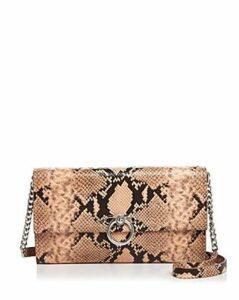 Rebecca Minkoff Jean Medium Convertible Leather Clutch