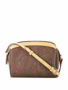 Etro paisley crossbody bag - Brown