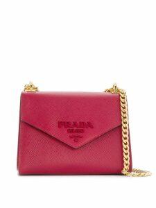Prada envelope shoulder bag - Red