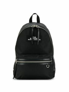 Marc Jacobs two-way zip closure backpack - Black