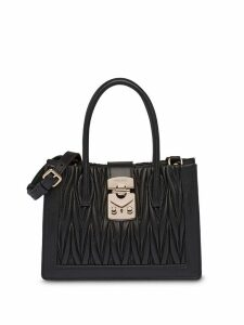 Miu Miu Matelassé shoulder bag - Black