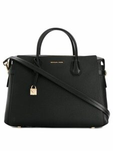 Michael Michael Kors Mercer belted satchel - Black