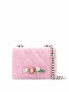 Alexander McQueen Knuckle Duster crossbody bag - Pink