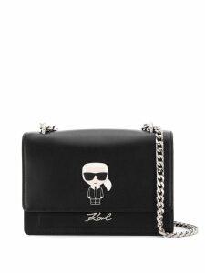 Karl Lagerfeld K/Ikonik Metal Lock Shoulderbag - Black