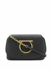 Salvatore Ferragamo Gancini mini bag - Black