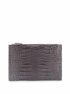 Givenchy medium Antigona clutch - Grey