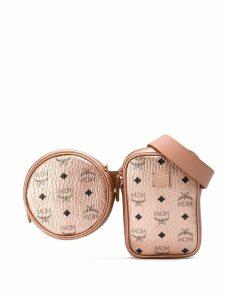 MCM Essential Original belt bag - Brown