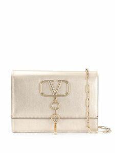 Valentino Valentino Garavani VCASE small metallic bag - Gold
