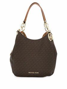 Michael Michael Kors Lillie Chain tote bag - Brown