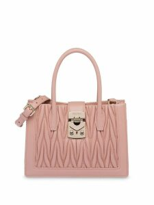 Miu Miu Matelassé shoulder bag - Pink
