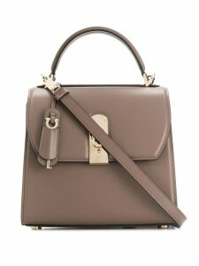 Salvatore Ferragamo Ferragamo Boxyz bag - Brown