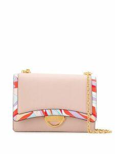 Emilio Pucci Burle Print Shoulder Bag - Neutrals