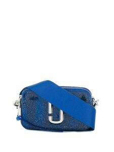 Marc Jacobs logo shoulder bag - Blue