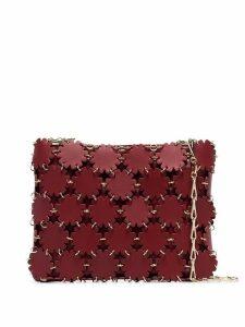 Paco Rabanne Blossom 1969 laser-cut shoulder bag - Red