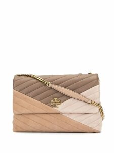 Tory Burch quilted shoulder bag - Brown