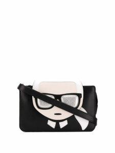 Karl Lagerfeld K/Ikonik Triple Pouch mini bag - Black