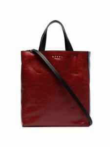 Marni medium Museo tote bag - Red