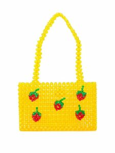 Susan Alexandra Strawberry beaded bag - Yellow