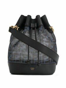Fendi Mon Tresor monogram bucket bag - Black