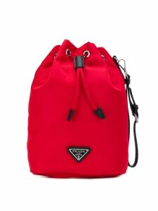 Prada bucket clutch bag - Red