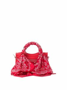 Balenciaga mini City scarf bag - Red