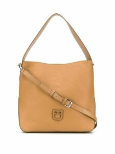 Furla logo hobo bag - Neutrals