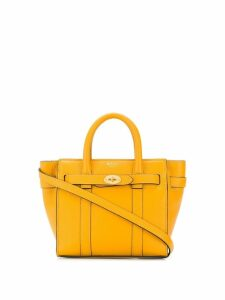 Mulberry micro zipped Bayswater small - Yellow
