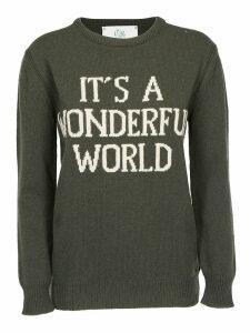 Alberta Ferretti Its A Wonderful World Pullover