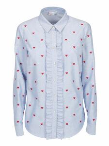 Red Valentino Heart Shirt
